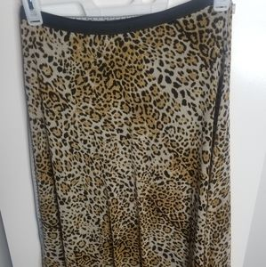 NWT Cheetah Print Skirt